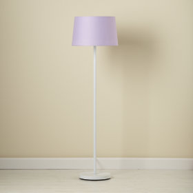Lavender Floor Shade (Shown with White Base)