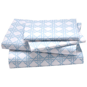 Lattice Sheet Set (Blue)