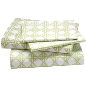 Lattice Sheet Set (Green)