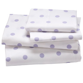 Pastel Dots Sheet Set (Lavender)