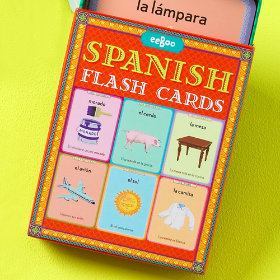 Little Linguist Spanish Flash Cards