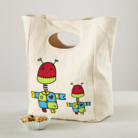 Carried Away Lunch Bag (Robot)