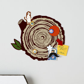 Personal Log Magnet Board