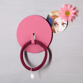 Spot On Magnet Hook (Pink)