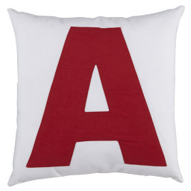 ABC Throw Pillows (Letter A)