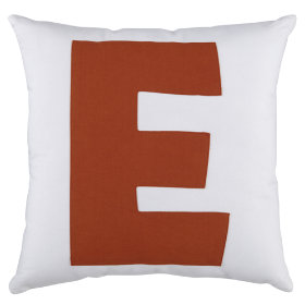 ABC Throw Pillows (Letter E)