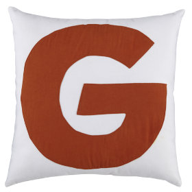 ABC Throw Pillows (Letter G)