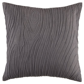 Faculty Mixer Faux Bois Throw Pillow