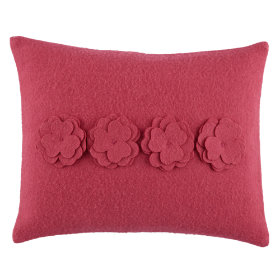 Bedding Bouquet Pillow (Pink)