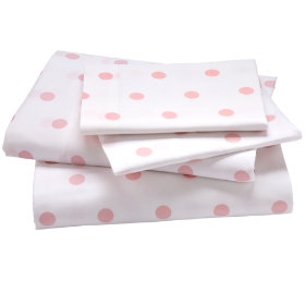 Dots Sheet Set (Pink Pastel)