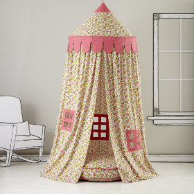 Home Sweet Play Home Canopy (Floral)