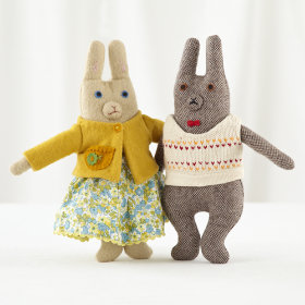 Mr and Mrs Bunny (Set of 2)