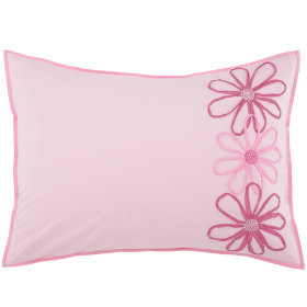 Pocket Full of Posies Sham (Pink)