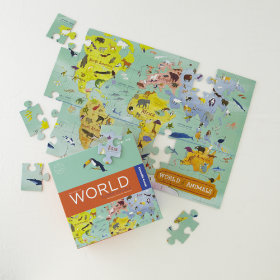 The World Is Your Floor Puzzle