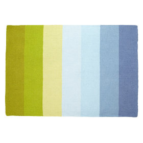 Broad Stripe Rug (Blue)