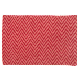 Zig Zag Rug (Pink)