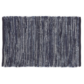 Floor-Cut Rug (Dk. Blue)