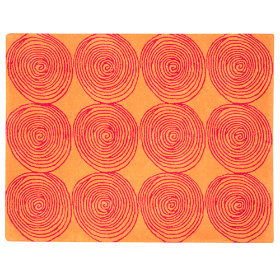Honey Bun Rug (Orange)