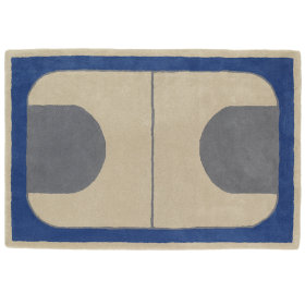 Game On Rug (Blue)