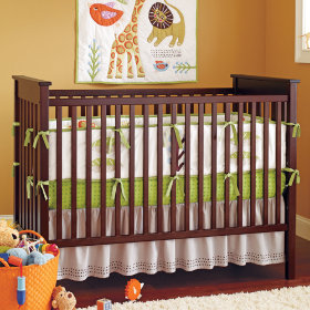 Sleepin Safari Crib Bedding