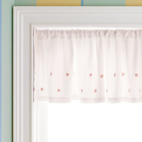 Star Window Valance (Pink)
