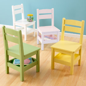 Storage Chairs (Pastel Colors)