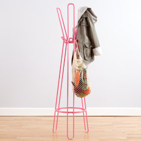 Basic Framework Coat Rack (Pink)