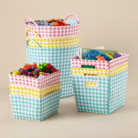 Bring In The Gingham Storage Collection