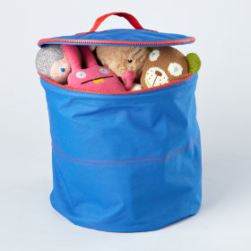 Blue Grab Bag Storage Bin