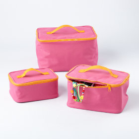 Pink Grab Bag Carrying Cases