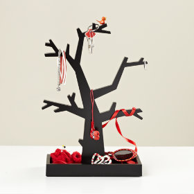 Fancy Branches Jewelry Tree (Black)