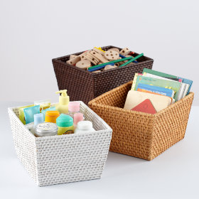 Rattan I Am Shelf Basket