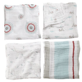 Its a Wrap Swaddling Blanket Set (Flying Dogs)