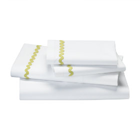 Ric Rac Sheet Set (Green)