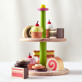 Two Tier Treat Tray