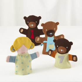 Once Upon a Hand Puppet Set (Three Bears)