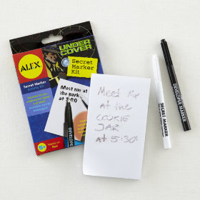 Secret Agent Marker Kit
