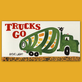 Trucks Go by Steve Light
