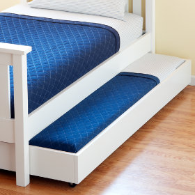 Simple Storage Trundle (White)