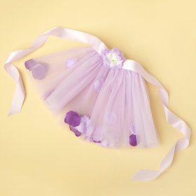 Petal Pusher Tutu (Lavender)