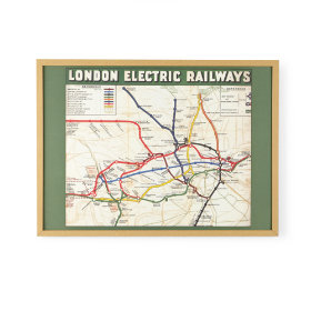 London Railway Framed Wall Art