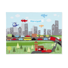 Highway and Skyway Personalized Wall Art