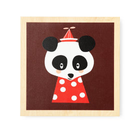 Animal Wall Art (Panda)