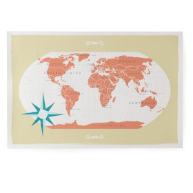 What a Wonderful World Wall Map