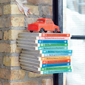 The Old Floating Bookcase Trick