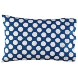 New School Blue wWhite Dot Pillowcase