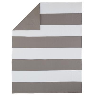 New School Twin Duvet Cover (Widest Stripe)