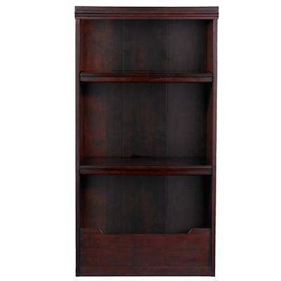 """48"""" Flat Top Bookcase (Espresso)"""