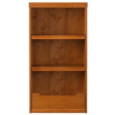 "48"" Flat Top Bookcase (Lt. Honey)"