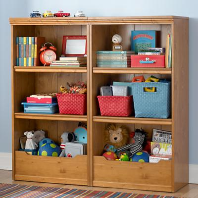"Flat Top Bookcase, 48"" (Lt. Honey)"